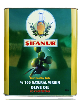 Sifanur Virgin Olive Oil - 10 L Tin Image
