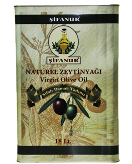 Sifanur Virgin Olive Oil - 18 Lt Tin Image