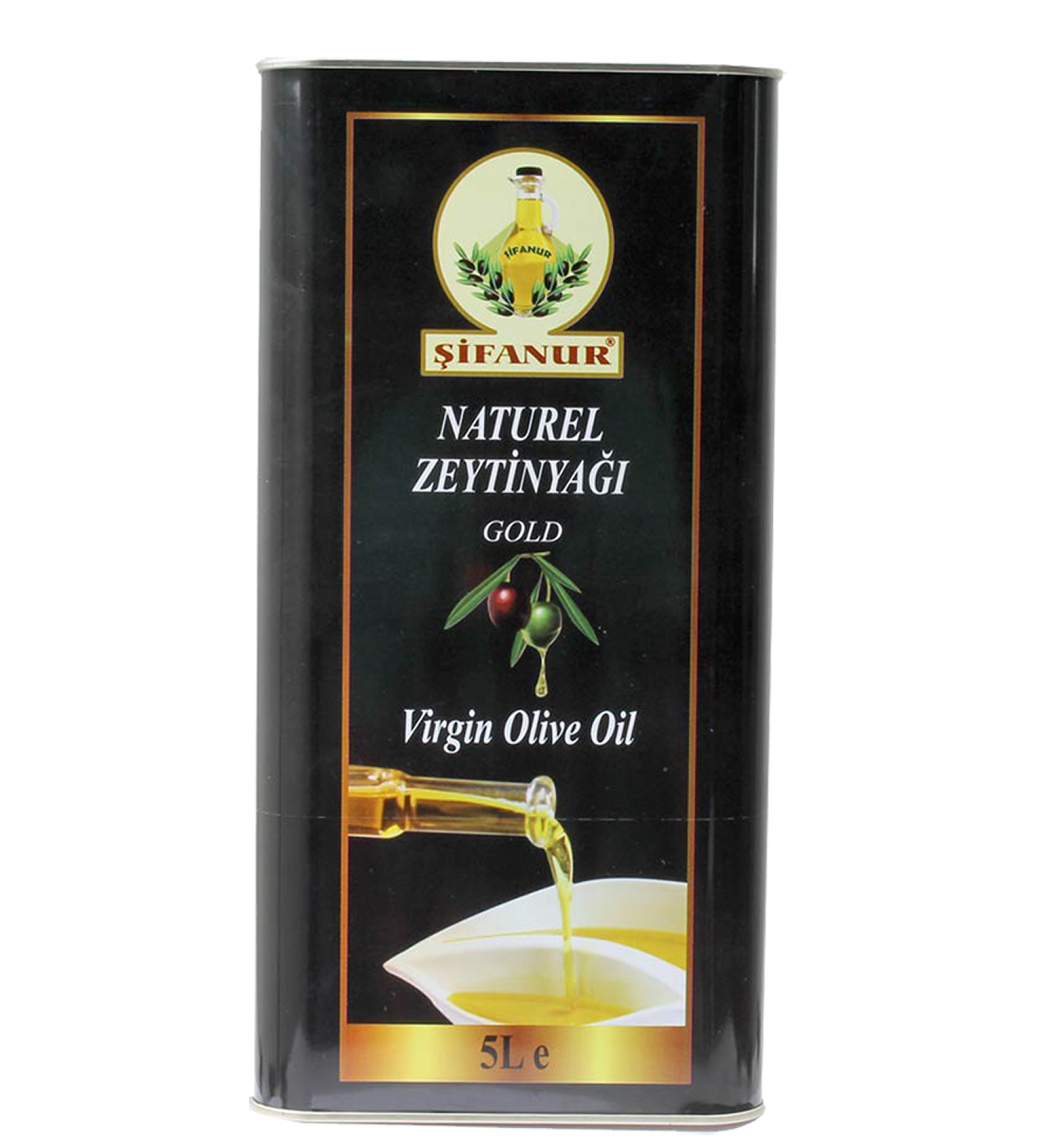 Sifanur Virgin Olive Oil - 5 L Tin Image